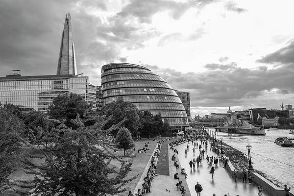 Photograph - London City Hall And Skyline  by John McGraw