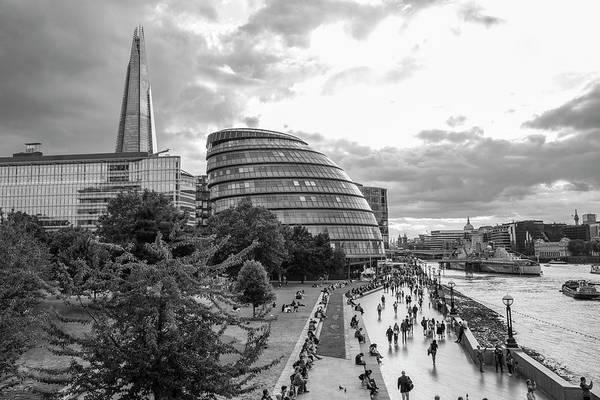 Photograph - London City Hall And Skyline  by John McGraw