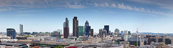 Wall Art - Photograph - London Cityscape Panoramic by Matthewleesdixon