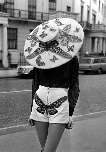 Fashion Model Photograph - London, England, 6th April 1971, A by Popperfoto