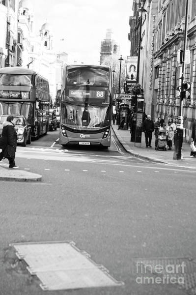 Photograph - London In Black And White by Jenny Potter