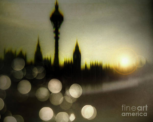 Digital Art - London Lights by Edmund Nagele