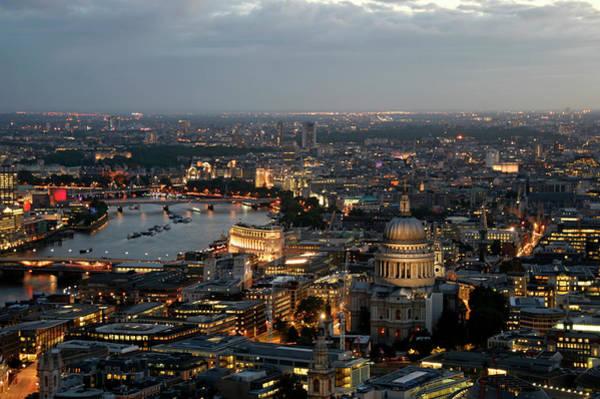 City Of David Photograph - London St. Pauls by David Bank