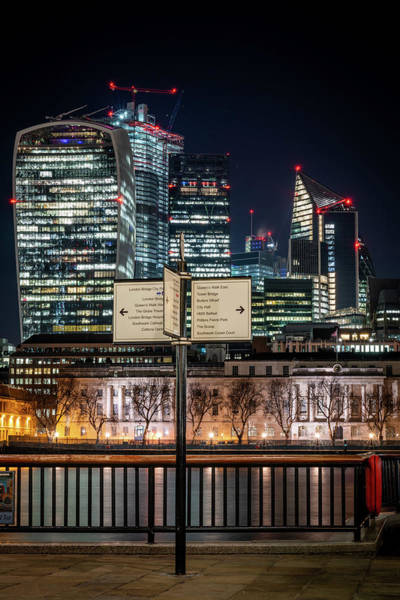Photograph - London Where To by Framing Places