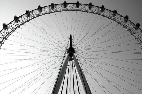 London_eye_i Art Print