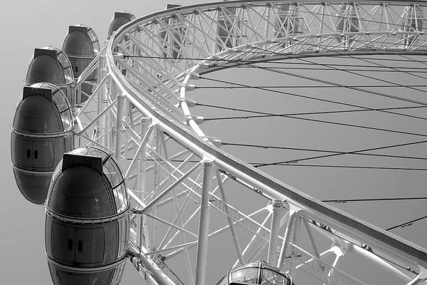 Photograph - London_eye_ii by Mark Shoolery