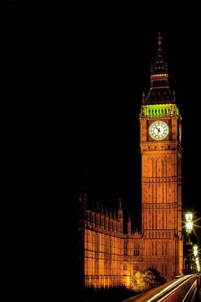 Wall Art - Photograph - London's Big Ben At Night by Kamil Swiatek