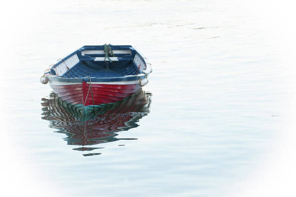 Photograph - Lone Boat by Helen Northcott