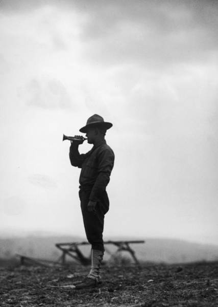 Uniform Photograph - Lone Bugler by Fpg