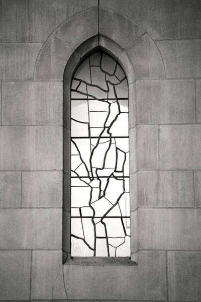 Photograph - Lone Cathedral Window by Don Johnson