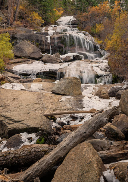 Photograph - Lone Pine Creek Falls by Loree Johnson