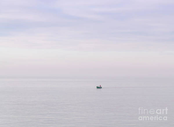 Photograph - Lone Sailor by Colin Rayner
