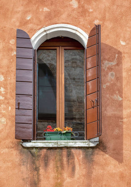 Wall Art - Photograph - Lone Window Of Venice by David Letts