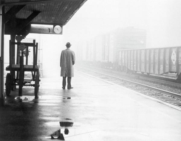 Number One Wall Art - Photograph - Lonely Commuter by Fpg