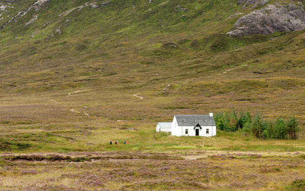 Outdoor Wall Art - Photograph - Lonely House In Scotland by Michalakis Ppalis