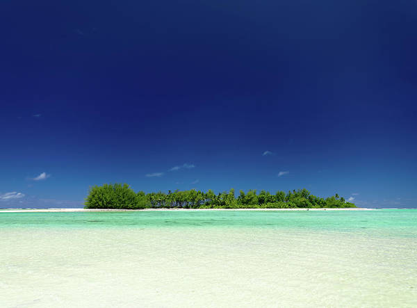 Rarotonga Photograph - Lonely Island South Pacific by Mlenny