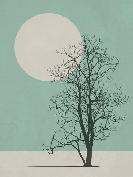 Earth Day Wall Art - Digital Art - Lonely Tree II by Naxart Studio