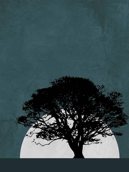 Wall Art - Mixed Media - Lonely Tree In Safari by Naxart Studio