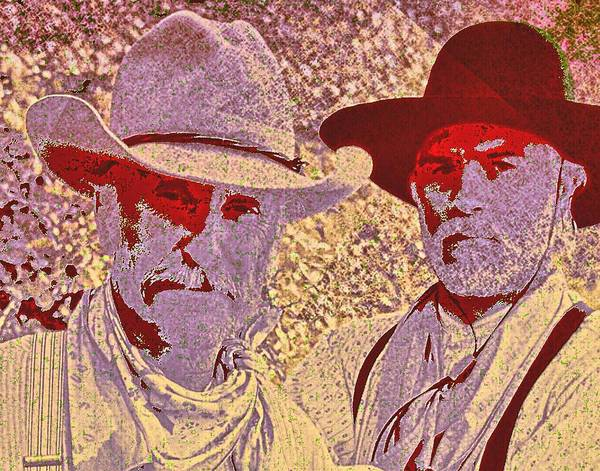 Gus Wall Art - Digital Art - Lonesome Dove  by Brian Broadway