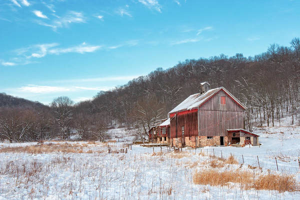 Wall Art - Photograph - Lonesome Farmstead by Todd Klassy