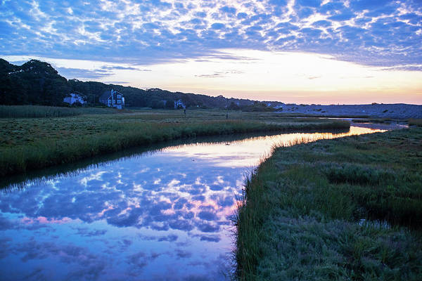 Photograph - Long Beach River Reflection Rockport Ma by Toby McGuire
