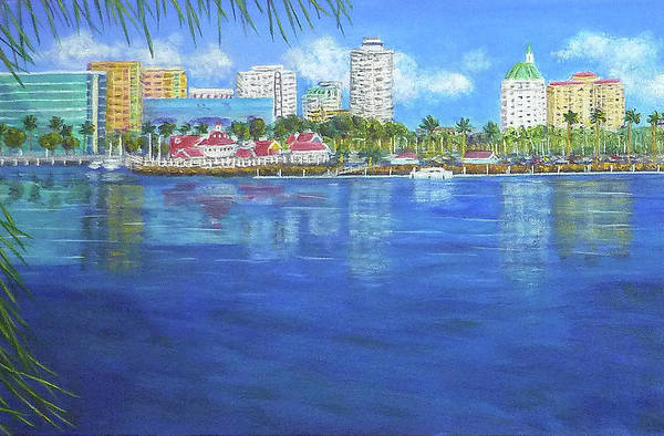 Painting - Long Beach Shoreline by Amelie Simmons