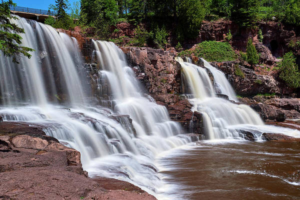 Wall Art - Photograph - Long Exposure Gooseberry Falls by Paul Freidlund