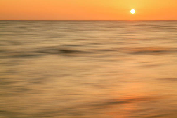 Wall Art - Photograph - Long Exposure Of Waves At Sunset, Boca by Adam Jones
