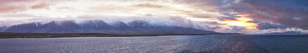 Wall Art - Photograph - Long Icelandic Panorama by Debra and Dave Vanderlaan