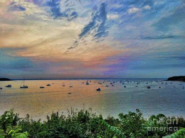 Photograph - Long Island Sound From Glen Cove by Jeff Breiman