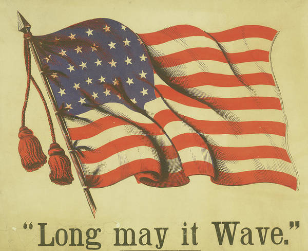 Long May It Wave Art Print