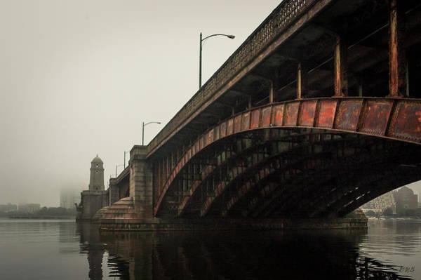 Photograph - Longfellow Bridge I Color by David Gordon