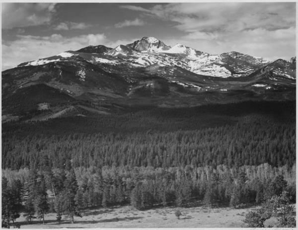 Photograph - Longs Peak , Rocky Mountain National by Buyenlarge
