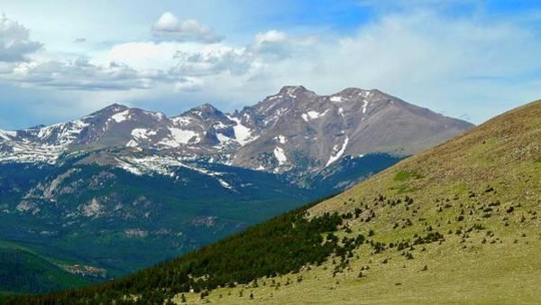 Photograph - Longs Peak Above Wild Basin by Dan Miller