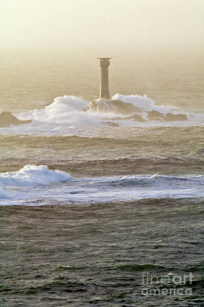 Wall Art - Photograph - Longships And Waves by Terri Waters