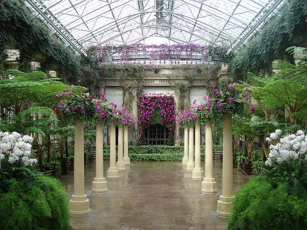 Longwood Gardens Photograph - Longwood Conservatory by Gordon Beck