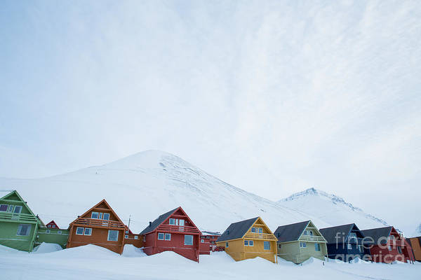 Remote Wall Art - Photograph - Longyearbyen, Spitsbergen, Norway - by Aleksandra Suzi