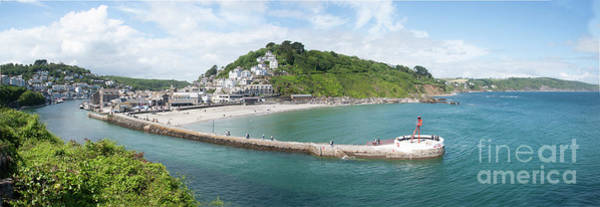 Photograph - Looe Estuary Panorama by James Lavott