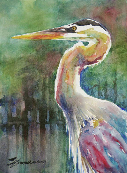 Wall Art - Painting -  Look Ahead by Sue Zimmermann