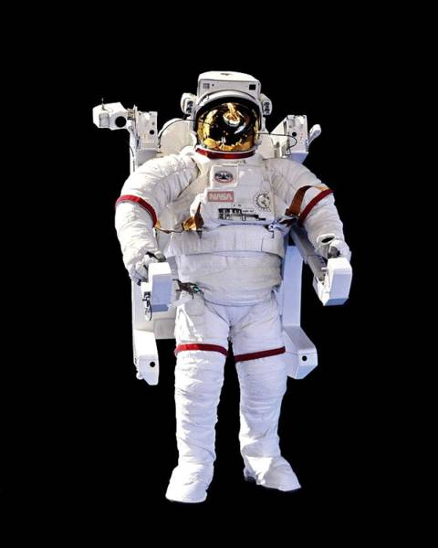 Photograph - Look Ma, No Strings - Spacewalk Suit, Kennedy Space Center by KJ Swan