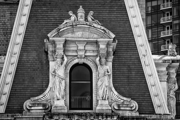 Photograph - Look Through Any Window - City Hall - Philadelphia by Bill Cannon