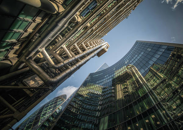 Photograph - Look Up London No 2 by Chris Fletcher