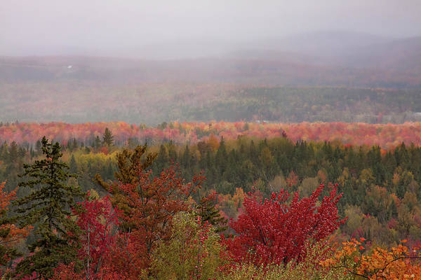 Photograph - Looking Across Autumn Hills by Jeff Folger