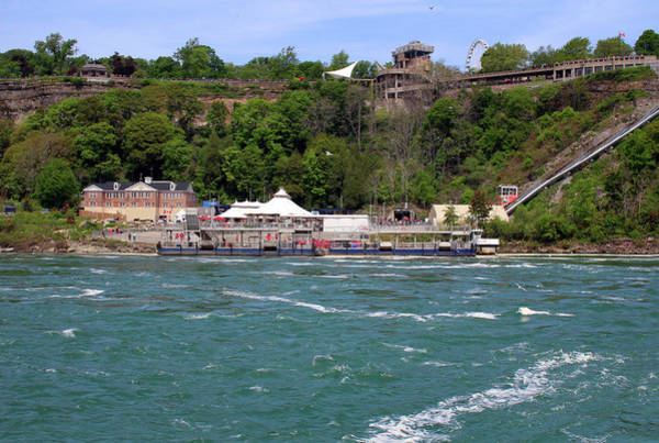 Photograph - Looking At The Canadian Side From The Maid Of The Mist Boat by Doc Braham