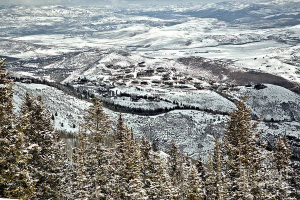Photograph - Looking Down On Deer Valley by Adam Jewell