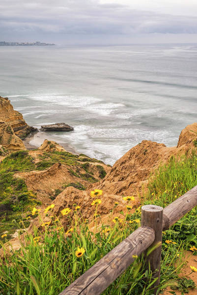 Wall Art - Photograph - Looking Down On Flat Rock by Joseph S Giacalone