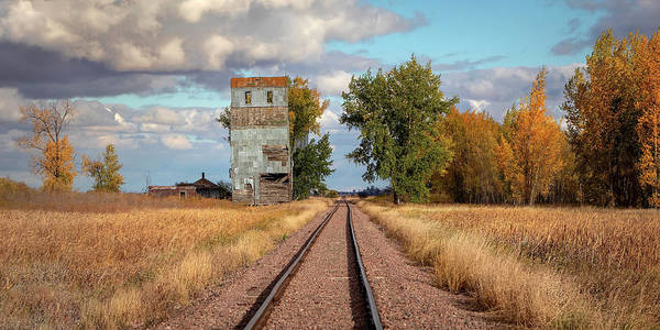 Photograph - Looking Down The Tracks At Josephine  by Harriet Feagin