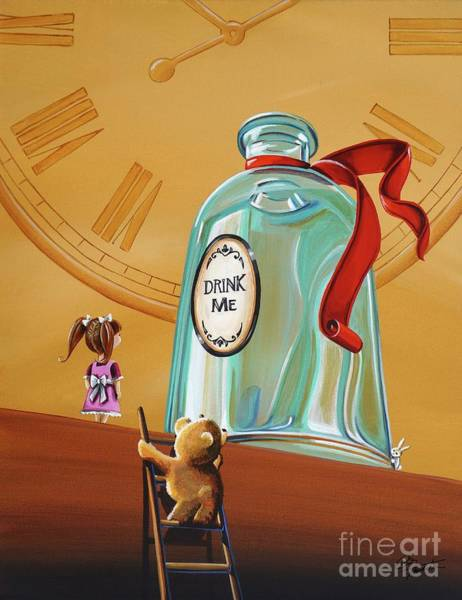 Wall Art - Painting - Looking For Alice by Cindy Thornton