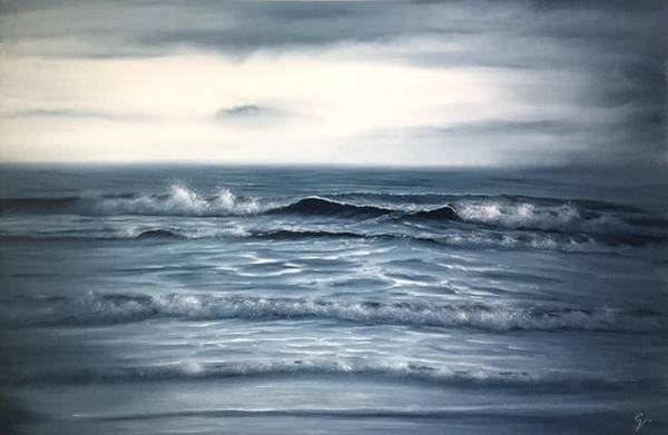 Painting - Looking Into Eternity by Eva Volf