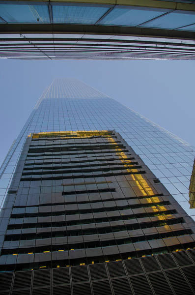 Wall Art - Photograph - Looking Up Comcast Technology Center - Philadelphia by Bill Cannon